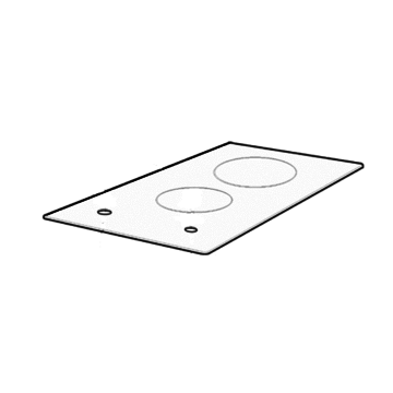 Hob Top Panel Glass & Frame Assembly